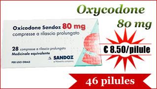 Oxycodon 80mg