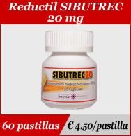 Reductil Sibutrec 20mg