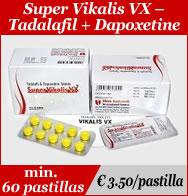Super Vikalis Dapoxetine